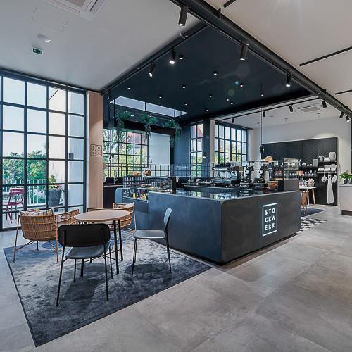 Einzelhandel mit Café Melle