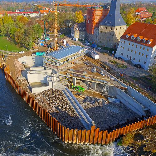 Wasserkraftwerk Bad Dürrenberg